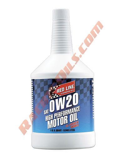 0w20 Red Line Synthetic Motor Oil Quart Racing Oils