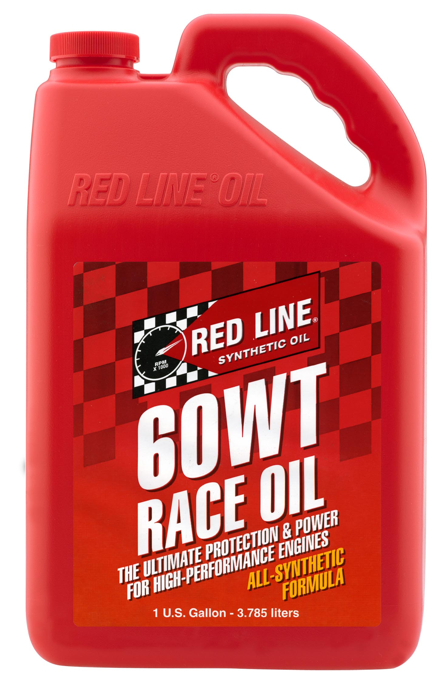 60WT (20W60) RED LINE DRAG RACE OIL (GALLON)
