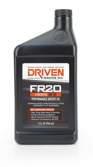 5w20 Synthetic Oil >> 5W20 DRIVEN STREET PERFORMANCE HIGH ZINC SYNTHETIC MOTOR OIL (QUART) - Racing Oils